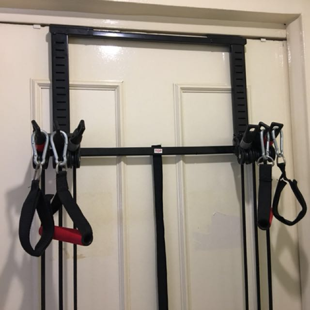 Door Exercise Pulley Sports Sports \u0026 Games Equipment On Carousell