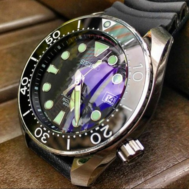 Double Dome Sapphire Crystal For Seiko Sumo Luxury