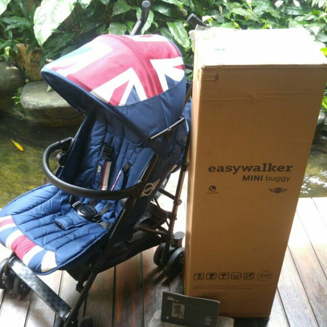 Easy walker Mini cooper union jack stroller