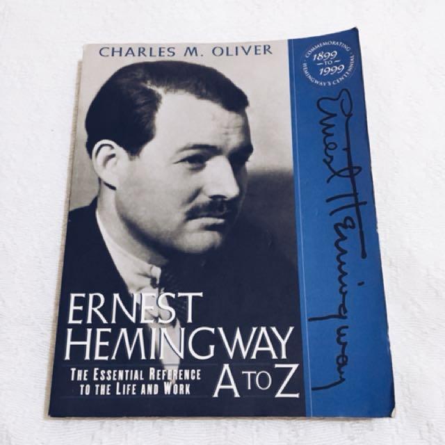 Ernest Hemingway A-Z