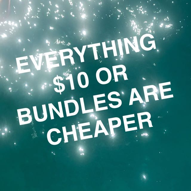 EVERYTHING $10 OR BUNDLES ARE CHEAPER! MESSAGE ME 💞💞
