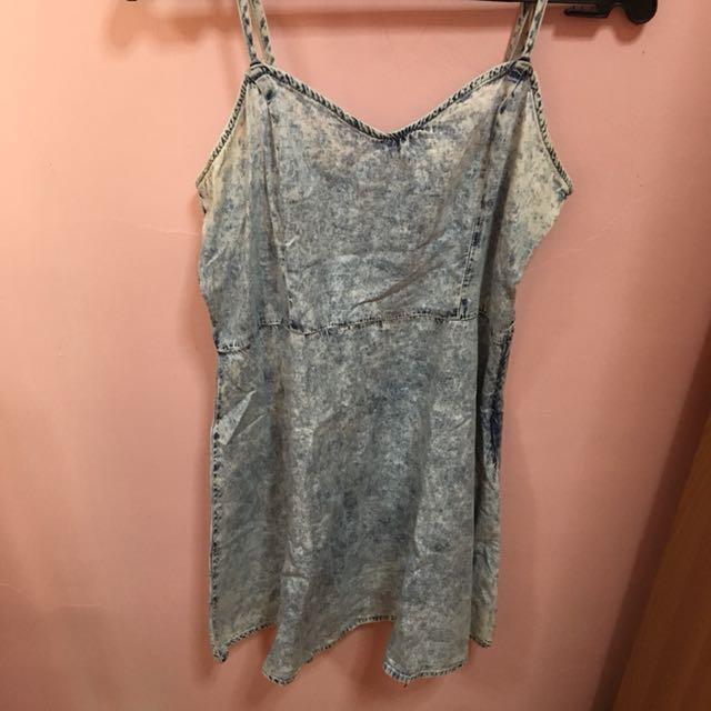 F21 Denim Dress