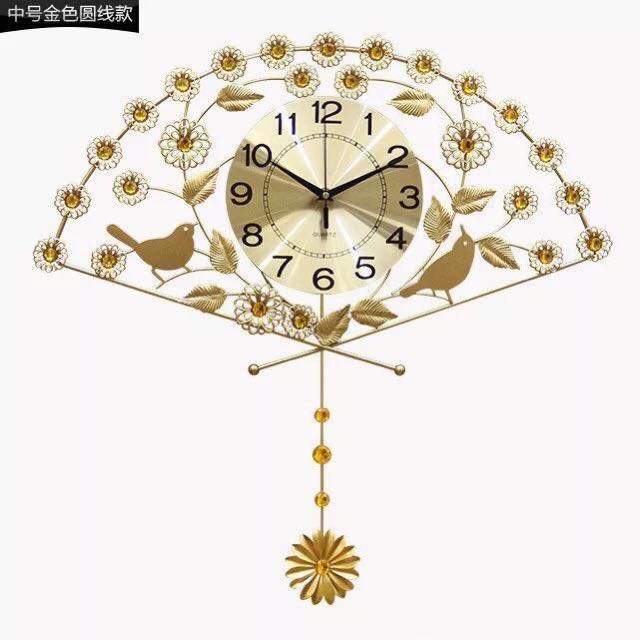 FAN WALL CLOCK
