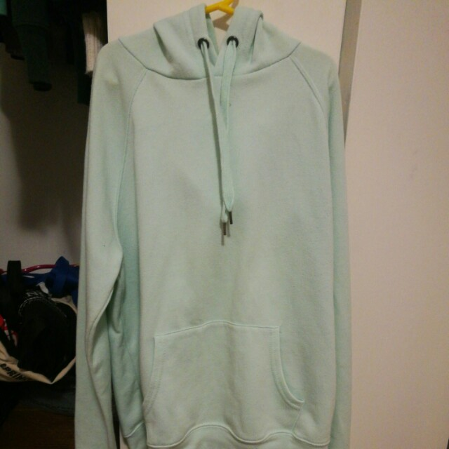 Forever 21 mint green hoodie