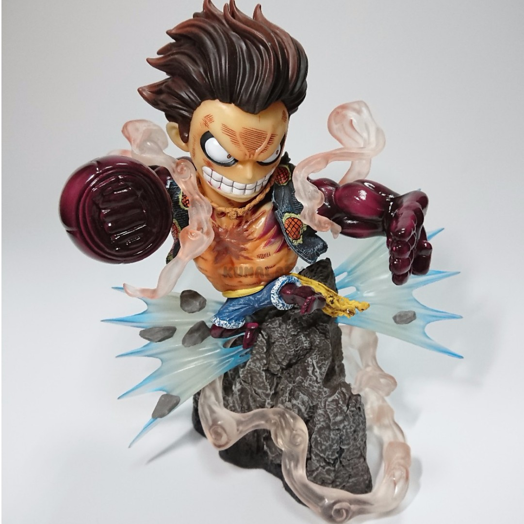 free delivery one piece monkey d luffy gear fourth mini figure