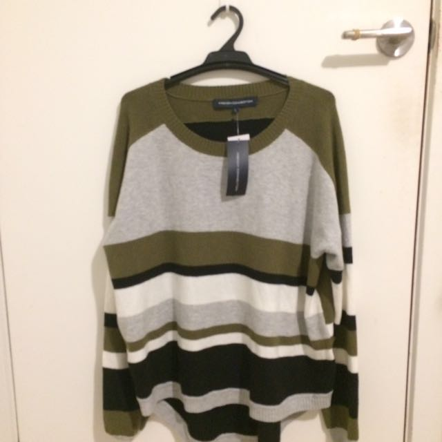 French Connection Khaki Jumper