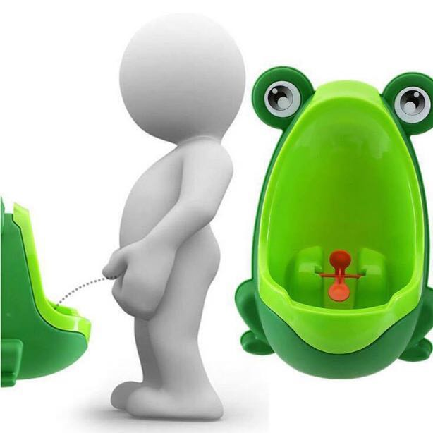 Frog Pee Trainer / Urinal / potty trainer