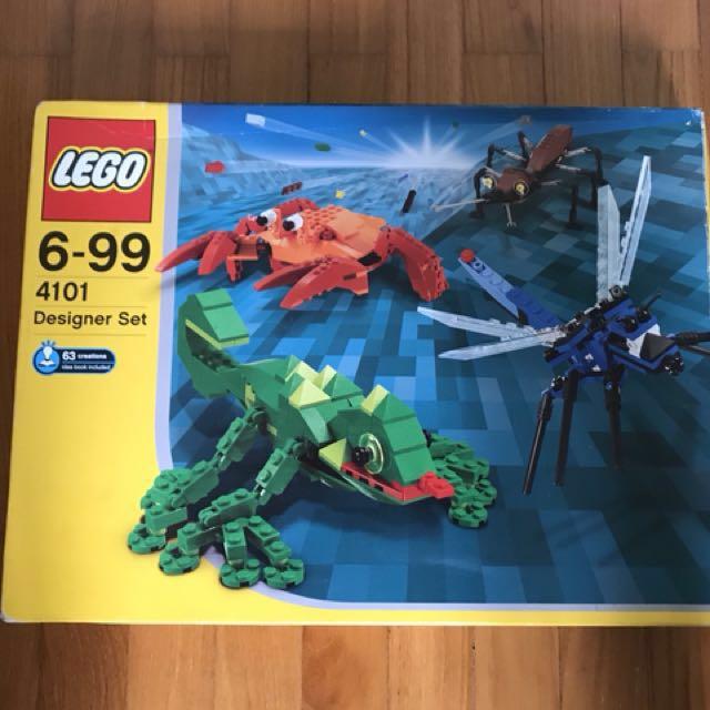 FULL SET Lego Designer Set 4101 Wild Collection