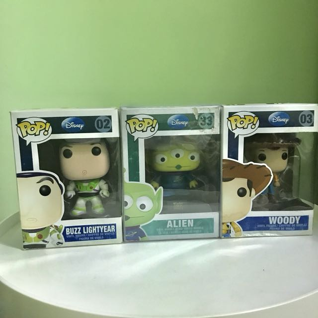 Funko Pop! Toy Story Set (Vaulted)