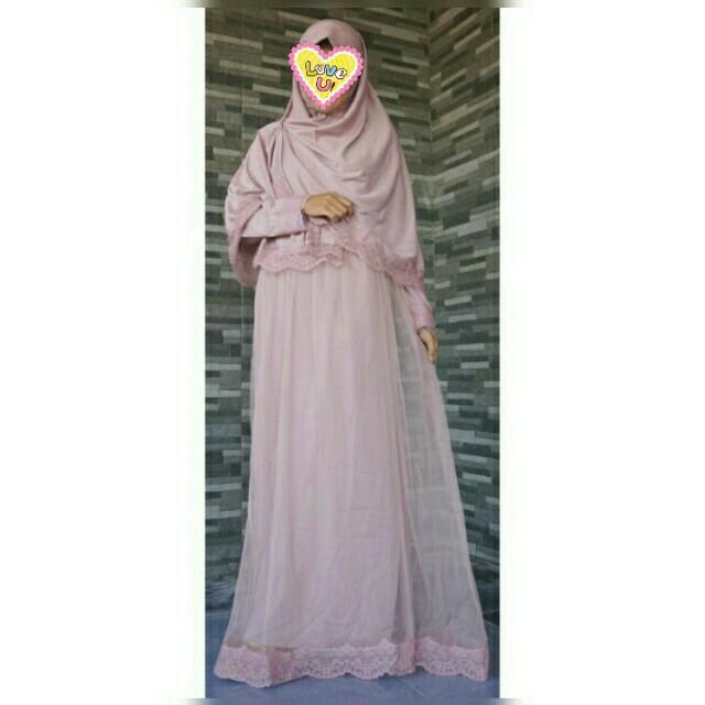 Gamis Tutu Omg Fesyen Wanita Muslim Fashion Di Carousell