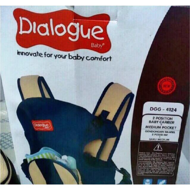 GENDONGAN BAYI / BABY CARRIER DIALOGUE - DGG 4124