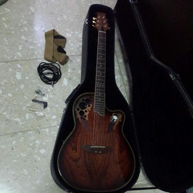 Gitar Akustik Elektrik Oregon Made In Korea