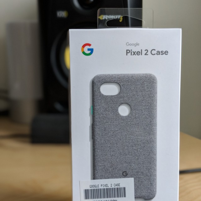 wholesale dealer cb2e9 57142 Google Pixel 2 XL Cement Fabric Case