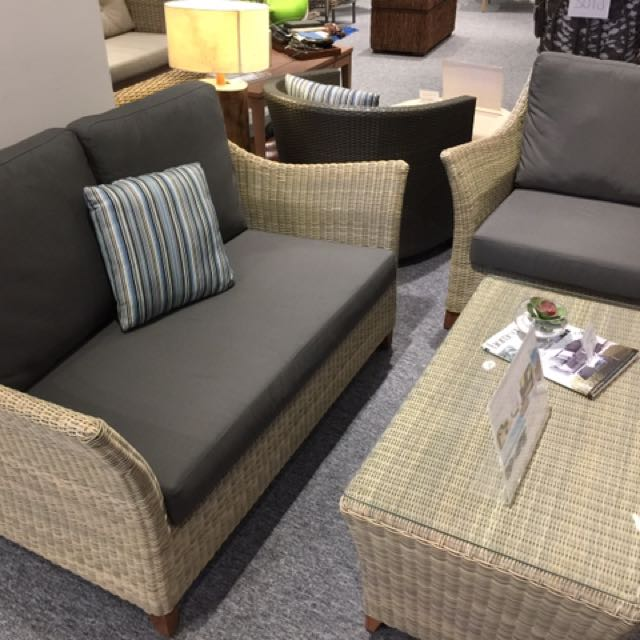 2 Seater Arm Chair Coffee Table