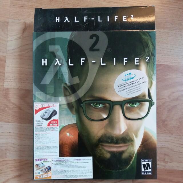 Half Life 2 PC game CDs