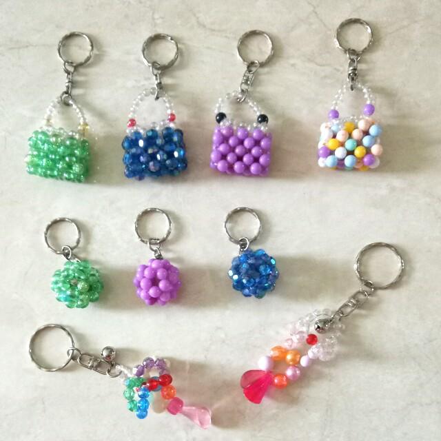 Handmade keyring/gantungan kunci