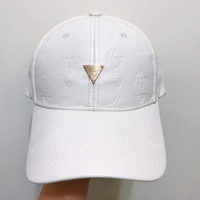 全新HATER白色棒球帽 有吊牌附防塵袋