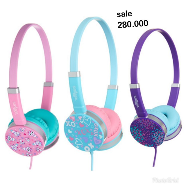 look for pretty nice another chance headphone kids smiggle, Music & Media, Accessories on Carousell