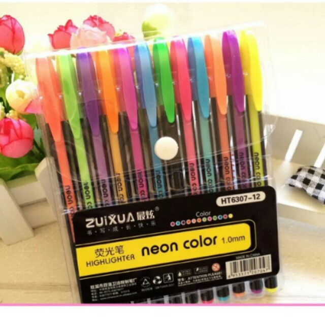 Highlighter pens set