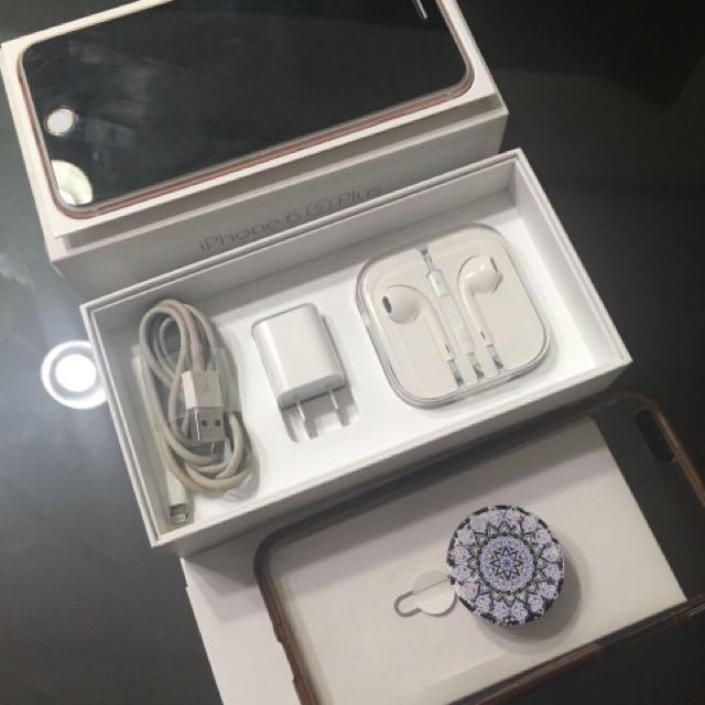 iPHONE 6s PLUS (64GB ROSEGOLD)