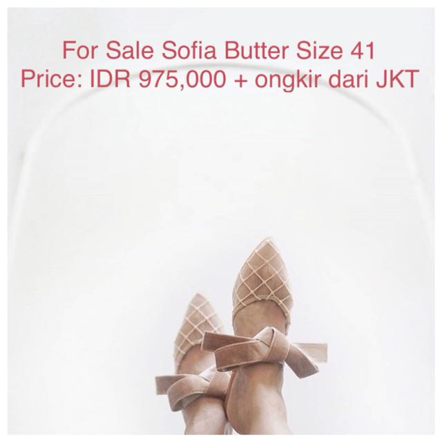 Ittaherl Curated Sofia Butter Size 41