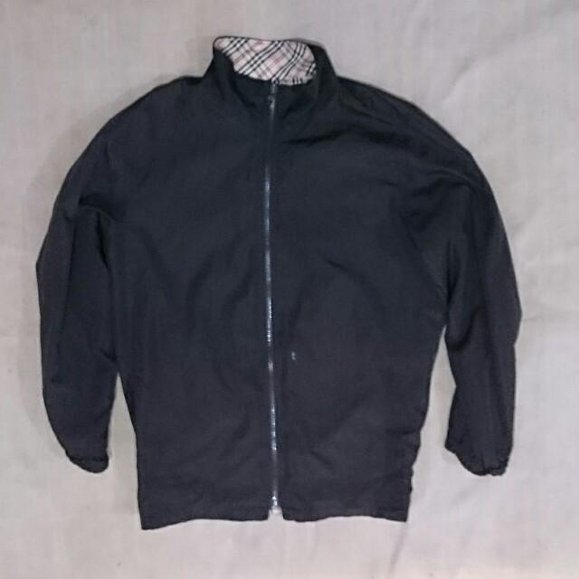 (SALE)Jaket parasut black