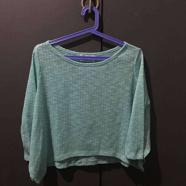 Just G Mint Green Top