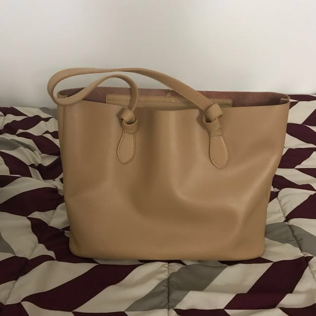 KC Jagger leather tote