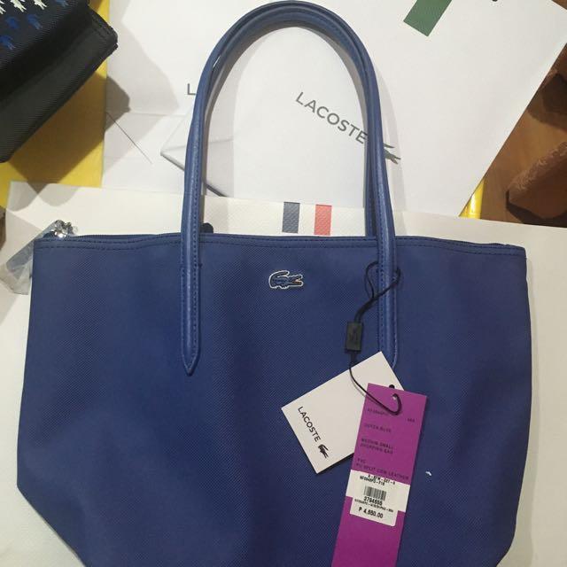 Lacoste Bag Medium Small Shopping Bag