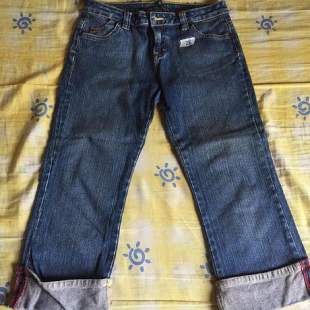 Lee Pipes 3/4 Jeans