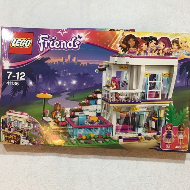 Lego Friends 41135 Livis Popstar House Toys Collectibles Toys