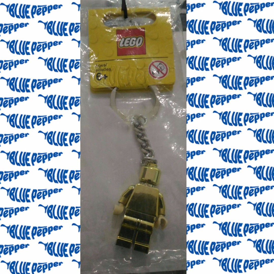 LEGO Keychain Gold Minifigure