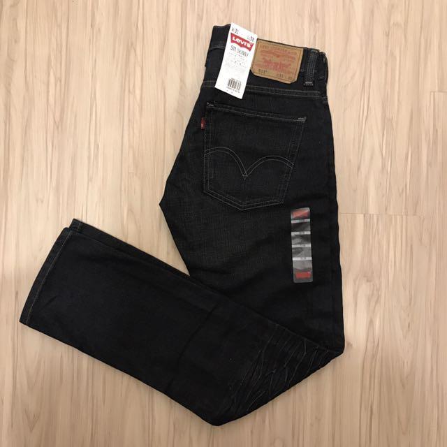 全新Levi's511 skinny經典窄身腿牛仔褲31腰