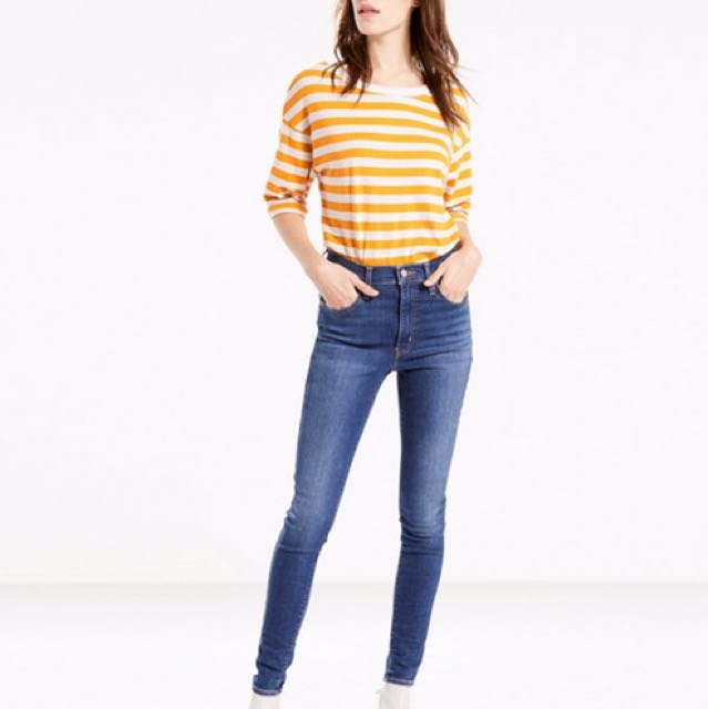 Levi's Mile High Skinny Jeans, Size 25