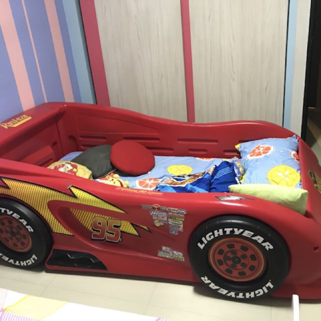 Lightning Mcqueen Race Cars Beds Furniture Mattresses On