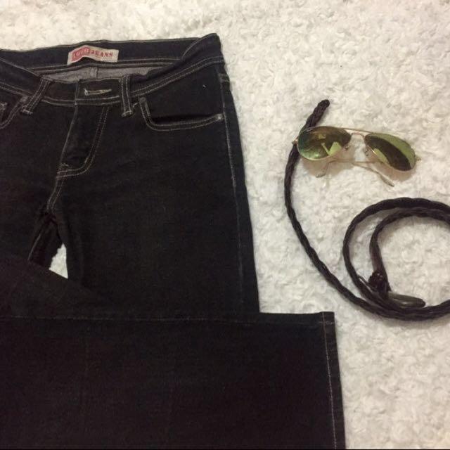 LOGO Jeans Black
