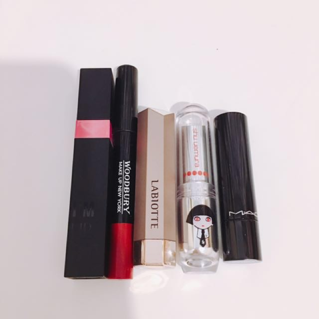 Mac 植村秀 Labiotte memebox專櫃 韓國 唇彩 有二手和近全新