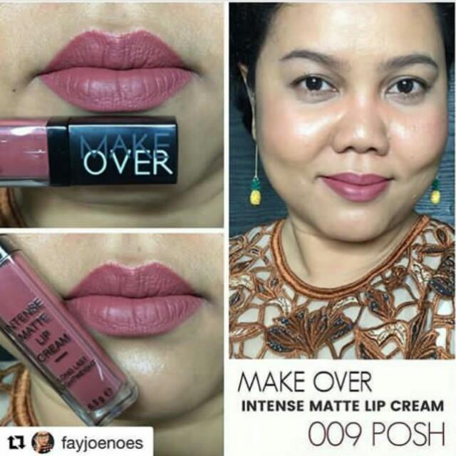 Make Over Intense Matte Lip Cream 09 - FREE ONGKIR JABODETABEK!, Olshop Fashion,