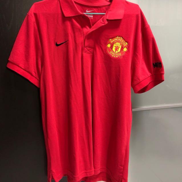 0e25fbe538f Manchester United Nike Polo Shirt