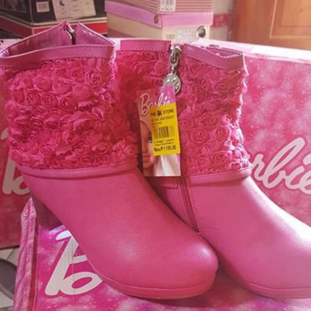 MATTEL BARBIE Cara Leather Boots