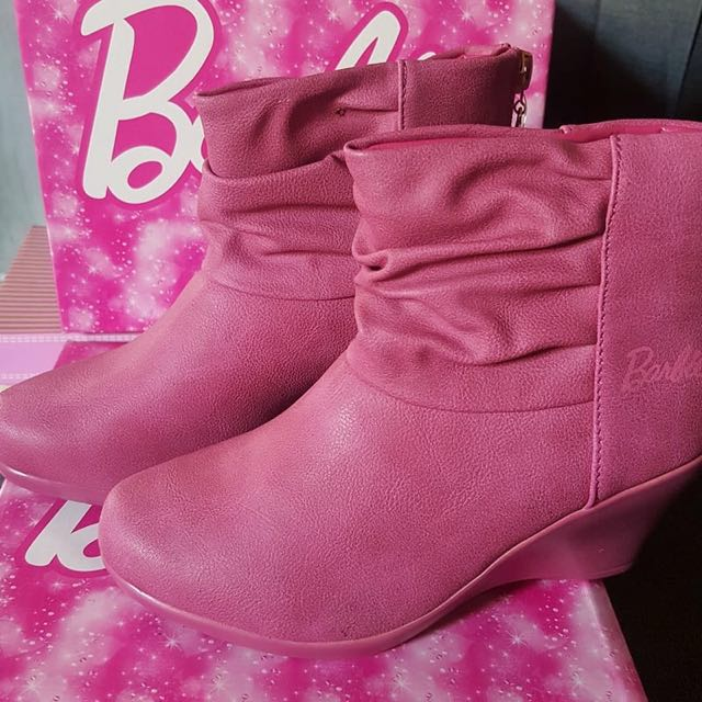 MATTEL BARBIE Charlene Leather Boots