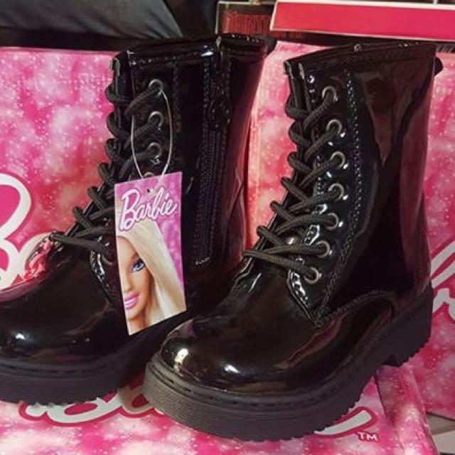 MATTEL BARBIE Star Leather Charol Boots