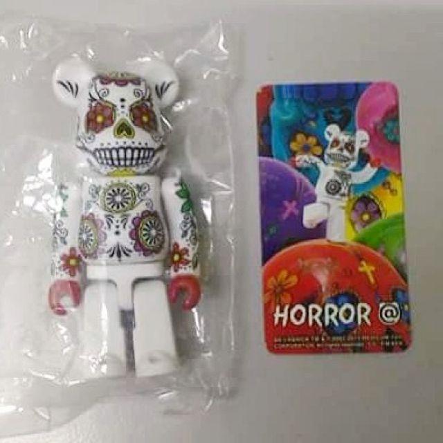 Medicom BE@RBRICK Series 26 Horror [Day of the Dead Sugar Skull] 100% Bearbrick