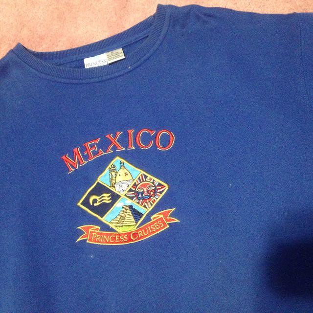 Mexico Blue Sweatshirt