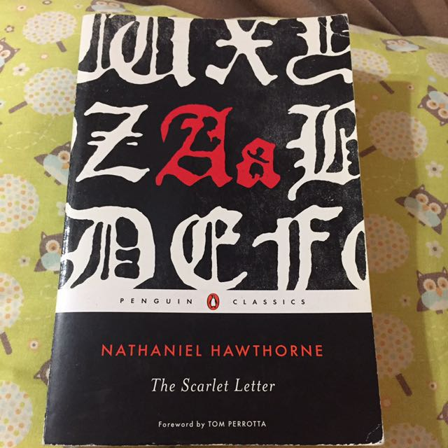 Nathaniel Hwathrone The Scarlet Letter Books Stationery Fiction
