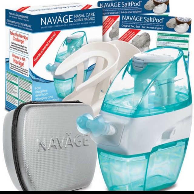 Navage Nose Cleaner Deluxe Bundle Sinus Relief Health Beauty