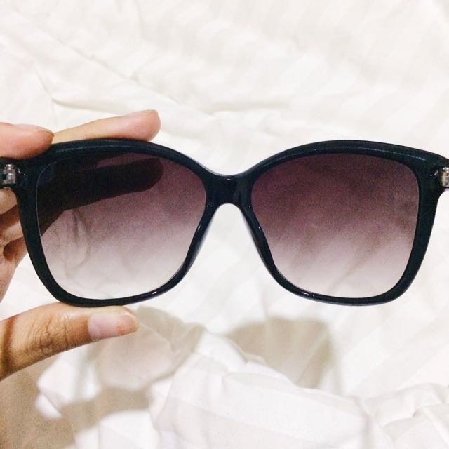 NEW - Black Sunglasses (kacamata hitam)