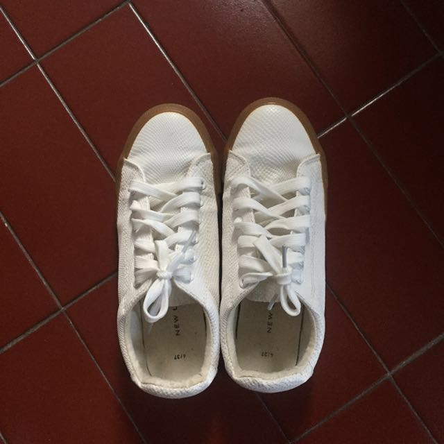 New Look White Sneakers
