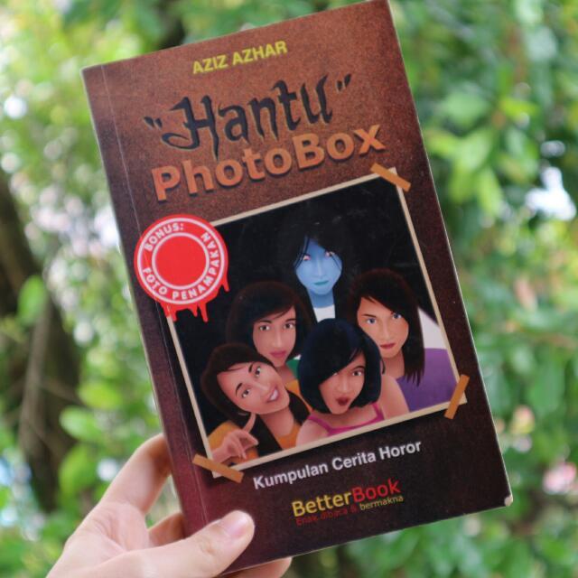 """Novel Horror: """"Hantu Photobox"""""""