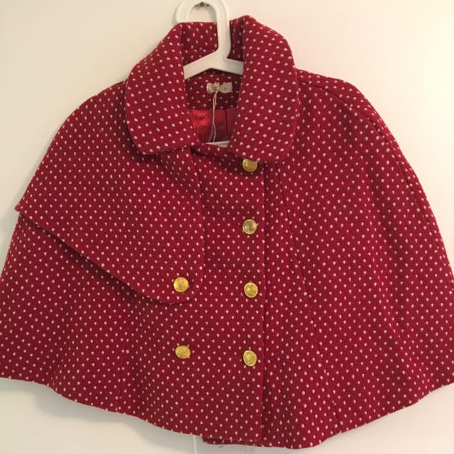 NWT Red Caplet